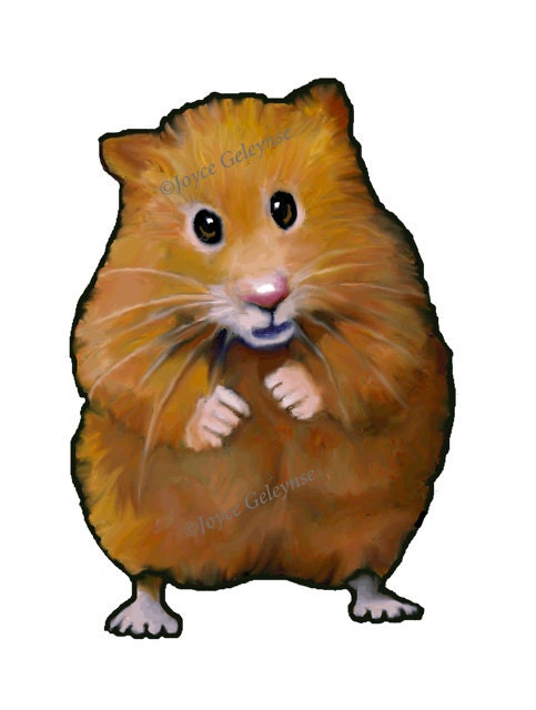 clip art hand drawn hamster animal clipart freehand color rh etsy com hamster clipart black and white hamster clipart black and white